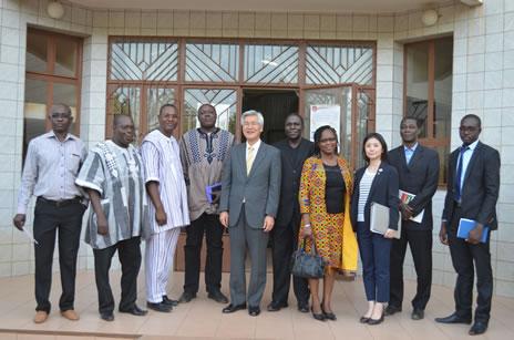 Visite de son Excellence Monsieur l'Ambassadeur du Japon à l'ABMAQ