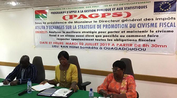 L'ABMAQ à l'atelier d'échanges sur la stratégie de la promotion du civisme fiscal